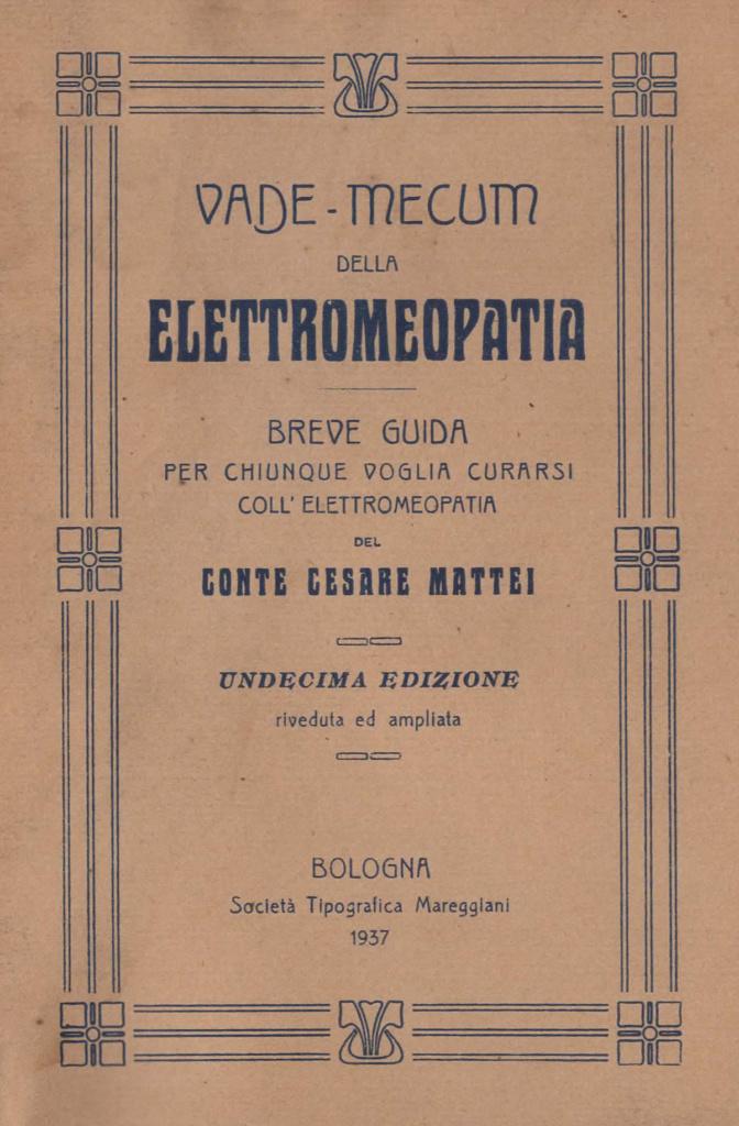 Vademecum dell'Elettromeopatia
