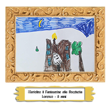 Lorenzo 5 anni - Mariolino il Fantasmino alla Rocchetta